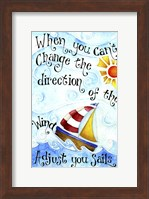 Adjust Your Sail(Words) Fine-Art Print
