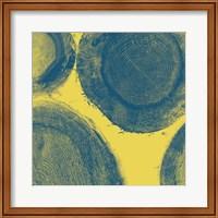 Blue on Yellow Fine-Art Print