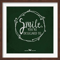 Smile - Black Fine-Art Print