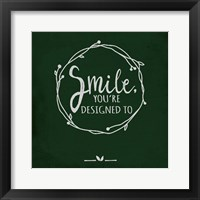 Smile - Black Fine-Art Print