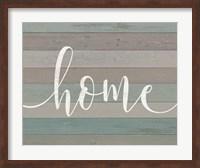 Rustic Home Script Fine-Art Print