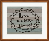 Rustic Love the Journey Script Fine-Art Print