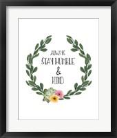 Humble & Kind Fine-Art Print