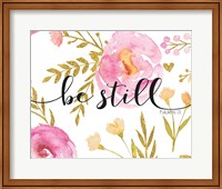 Be Still Floral Fine-Art Print