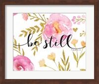 Be Still Floral Fine-Art Print
