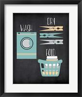 Wash, Dry, Fold Fine-Art Print