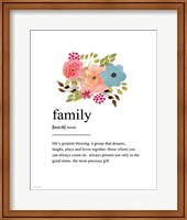 Family Definition Fine-Art Print