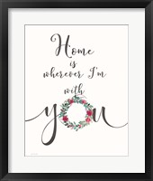 Home is With You Fine-Art Print