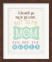 The World Mom Fine-Art Print