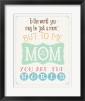 The World Mom Fine-Art Print