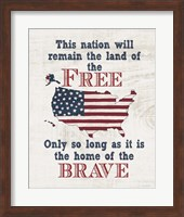 Home of the Brave Fine-Art Print
