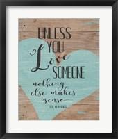 Love Someone Fine-Art Print
