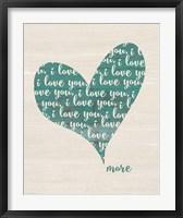 Love You More Fine-Art Print