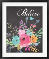 Believe - Chalk Fine-Art Print