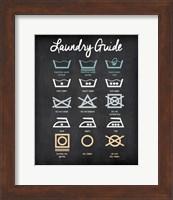Laundry Guide Fine-Art Print