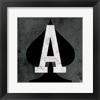 Ace of Spades Gray Fine-Art Print