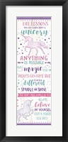 Life Lessons from a Unicorn Fine-Art Print