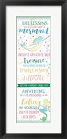 Life Lessons from a Mermaid Fine-Art Print