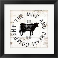 Milk and Cream Company Fine-Art Print