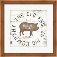 The Old Pig Company II Fine-Art Print