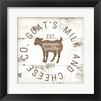 Goat's Milk and Cheese Co. II Fine-Art Print