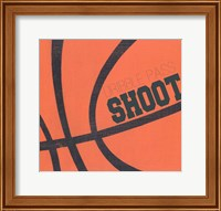 Dribble, Pass, Shoot Fine-Art Print