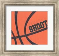 Dribble, Pass, Shoot Fine-Art Print