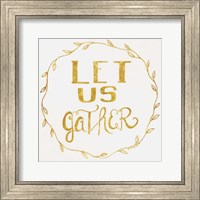 Let Us Gather - Gold Fine-Art Print