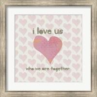 I Love Us Fine-Art Print