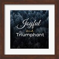 Joyful and Triumphant Fine-Art Print