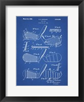 Golf Club Patent - Blueprint Fine-Art Print