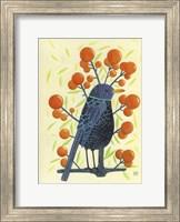 Blackbird Oranges Fine-Art Print