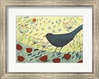 Spring Blackbird 1 Fine-Art Print