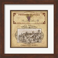 Vintage Labels IV Fine-Art Print