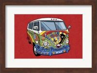 Sixties VW Hippy Van Fine-Art Print