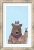Hipster Bear Fine-Art Print