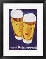 Female Male Beer Fine-Art Print