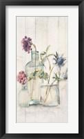 Blossoms on Birch II Panel Fine-Art Print