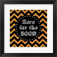 Here for the Boos Outlines Fine-Art Print