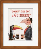 Lovely Day for a Guinness Fine-Art Print