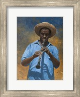 Clarinet Player Fine-Art Print