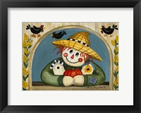 Smiling Scarecrow Fine-Art Print