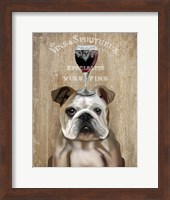 Dog Au Vin, English Bulldog Fine-Art Print