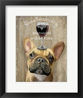 Dog Au Vin, French Bulldog Fine-Art Print