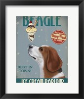 Beagle Ice Cream Fine-Art Print