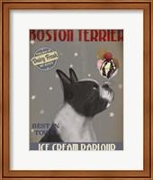 Boston Terrier Ice Cream Fine-Art Print