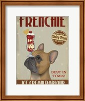 French Bulldog Ice Cream Fine-Art Print
