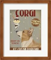 Corgi, Tan, Ice Cream Fine-Art Print