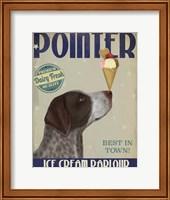 German Shorthaired Pointer Ice Cream Fine-Art Print