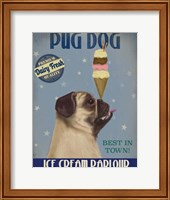 Pug, Fawn, Ice Cream Fine-Art Print